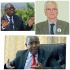 Burundi February 27, 2021:Great defender of Rwandan genocidaires, Alain De Brouwer tries to help Gitega's power